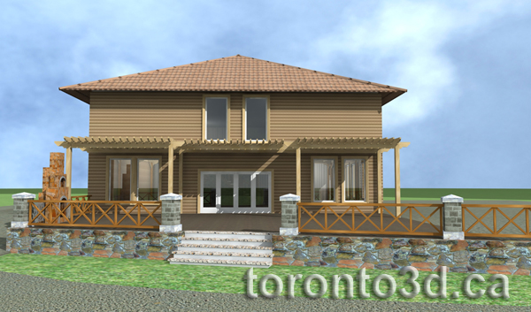 3d-Max-studio-archiitectural-rendering-exterior-wood-house