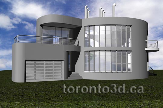 House design illustration