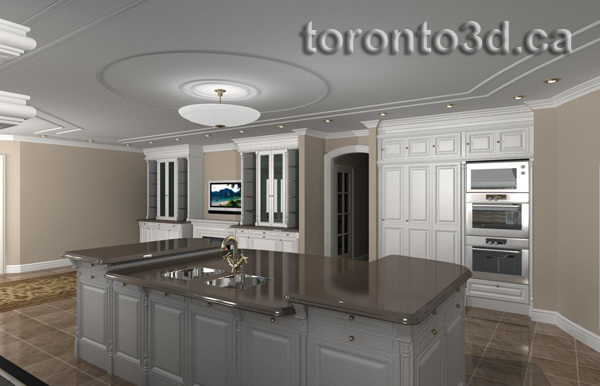 kitchen design visualization