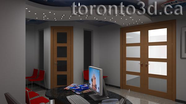 Interior illustration