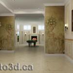 interior basement visualization