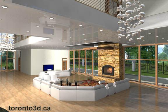 Interior Illustration living room