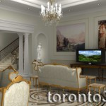 Interior Illustration living room