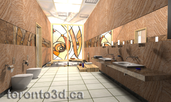 3d architectural rendering and visualization toronto3d for Moderne vitrage