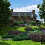 architectural visualization house